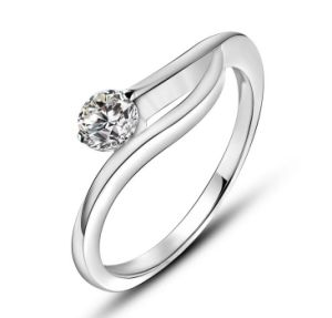 Platinum Plating Promise Ring Star Fashion Stainless Jewelry pictures & photos