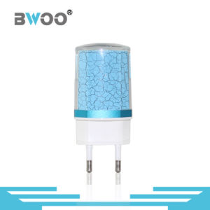 Fashion EU 2 USB Travel Charger for Mobile Phone pictures & photos