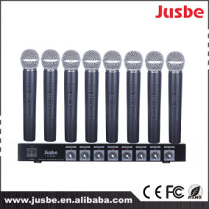 8 Channel VHF Professional Sound System Wireless Microphone pictures & photos