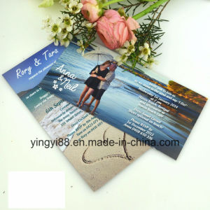 Custom Size Acrylic Wedding Invitation, Photo Invitation pictures & photos
