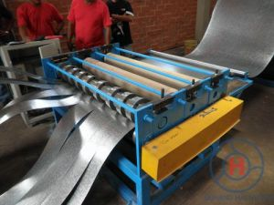 High Speed Cutting Steel Coil Film Slitting Line Machine pictures & photos