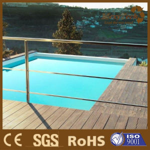 Plastic Composite Outdoor Anti Slip Swimming Pool WPC Decking pictures & photos
