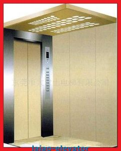 Slide Opening and Speed 1.0m/S Cargo Elevator pictures & photos