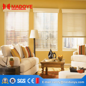 Aluminum Frame Insulating Glass Electric Shutter Window pictures & photos