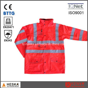 Reflective Safety En343 3: 3 Motorbikes Hivis 3 in 1 Jackets pictures & photos