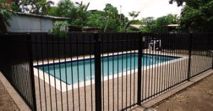 Security Galvanized Steel Fence for Garden Pool with Discount Price pictures & photos
