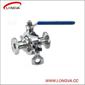 Sanitary Stainless Steel Clamp Non-Retention Ball Valve pictures & photos
