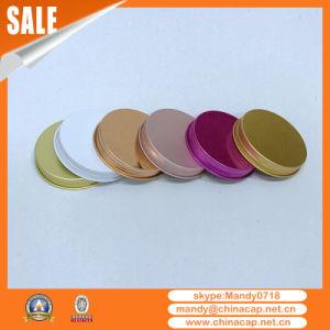 New Design Threaded Aluminum Cap for Glass Jar Wholesale pictures & photos