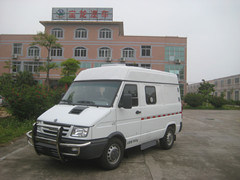 4*2, Diesel Type, Armored Iveco Cash in Transit Van, Armored Vehicle / (TBL5041XYCF2)