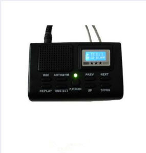 Rechargeable Mini Telephone Voice Recorder Dictaphone MP3 Player Logger Telephone Voice Monitor pictures & photos