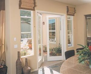 Plastic PVC Profile for Window, Window Door PVC Profile Swing Window Frame pictures & photos