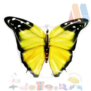 PVC Blow up Yellow Color Butterfly Pool Float Island pictures & photos