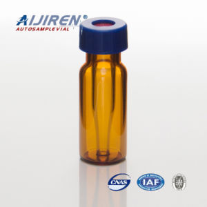 250UL Amber Fusion Glass Vials with Caps and Septa pictures & photos