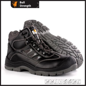 Industrial Leather Safety Shoes with PU/PU Sole (SN5487) pictures & photos