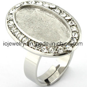 Stainless Steel Parts Blank DIY Jewelry Ring Base pictures & photos