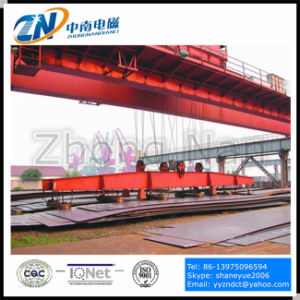 Crane Suspension Rectangular Lifting Electro Magnet for Steel Plate Handling MW84-26035L/1 pictures & photos