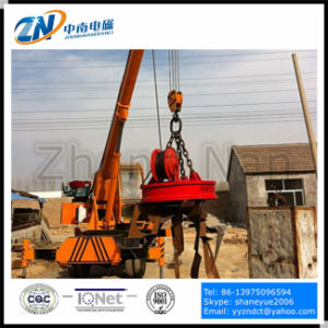 75% Duty Cycle Scrap Lifting Circular Electromagnet with 2300kg Lifting Capacity MW5-165L/1-75 pictures & photos