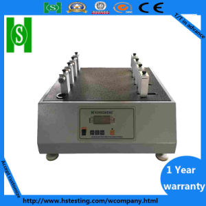Factory Price Shoeslace Eyelets Abrasion Resistance Friction Tester pictures & photos