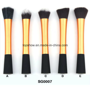 Factory Wholesale High Quality 5PCS Synthetic Hair Washable Cosmetic Make up Brush Set