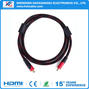 1m High Quality 1.4V HDMI Cable for Promotion with Rings pictures & photos