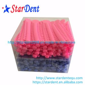 Orthodontic Ligature Tie Power O Colored Ties/Dental Elastic Ties with Various Colors pictures & photos