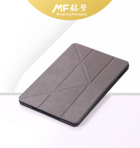 Retro Foldable Flip Leather Mobile Tablet Case pictures & photos