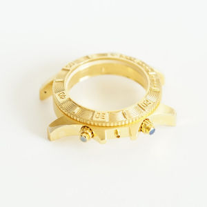 Factory Price Elegant Gold Color Watch Case Watch Parts pictures & photos