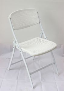 New Design Factory Price Steel Plastic Folding Chair pictures & photos