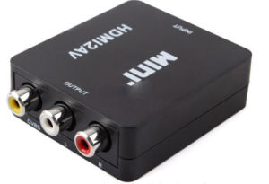 HDMI to RCA Converter 1080P pictures & photos