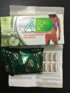 Natural Chinese Herbal Formula Abdomen Smoothing Weight Loss Slimming Capsule pictures & photos