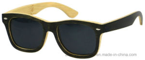Accept OEM 2017 Hot New Bamboo Frame Sunglasses pictures & photos