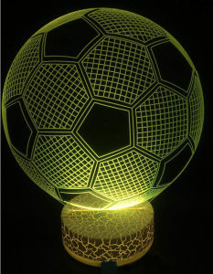 LED Table Lamp 3D Illusion Light Night Tbale Lamp Acrylic LED Night Light pictures & photos
