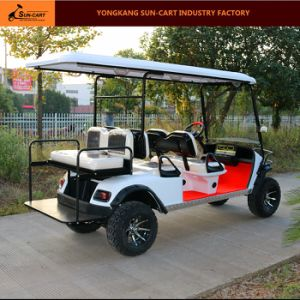 6 Passenger Electric Hunting Golf Cart (Rear back folding seats) pictures & photos