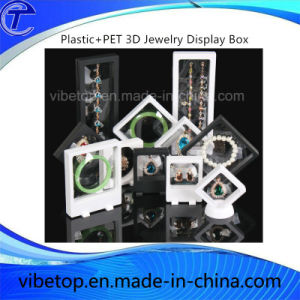 Plastic Jewelry/U Disk 3D Display Box pictures & photos