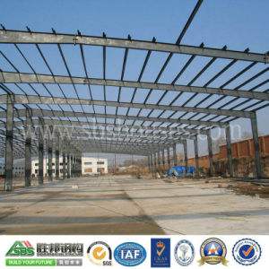 Professional Design Prefabricated Steel Structure Building Made by H Beam pictures & photos