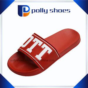 Custom Logo in PVC Blowing Name Brand Men Sandal pictures & photos