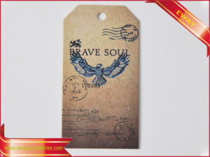 Printed Clothing Hang Tag Price Tag Garment Tag pictures & photos