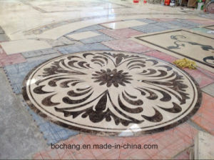 Polished Marble Floor Waterjet Medallion for Inner Decoration pictures & photos