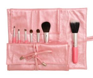 Hot Selling Pink 7PCS Makeup Brush with Natural Hair pictures & photos