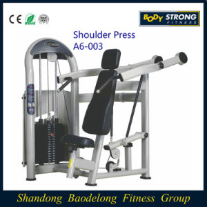 Body Strong Full Commercial Use Gym Machines/ Shoulder Press A6-003 pictures & photos