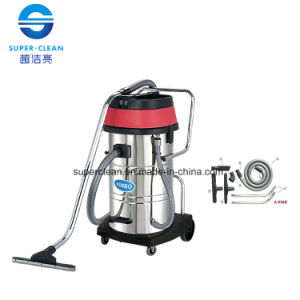 80L Stainless Steel Wet and Dry Vacuum Cleaner with Tilt pictures & photos