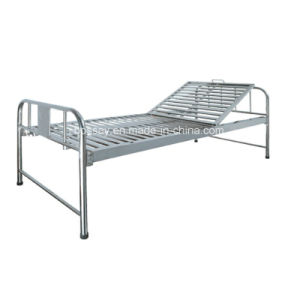 Manual Hospital Bed One Crank with Professional Service pictures & photos