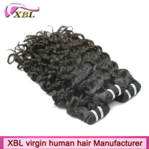 Xbl Wholesale Peruvian Hair Virgin Human Hairpieces pictures & photos