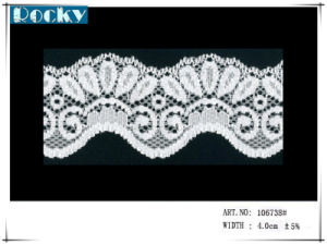 Factory Price Jacquard Lace White Trimming Lace for Bra