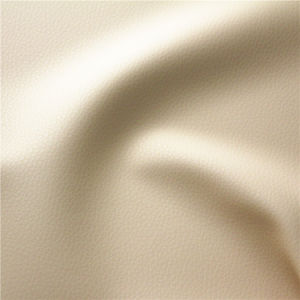 Supply Synthetic Fireproof PVC Furniture Upholstery Leather with Cheap Price pictures & photos