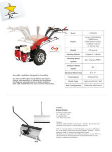 China Cheap Price Two Wheel Tractor  Power Weeder (HYT01) pictures & photos