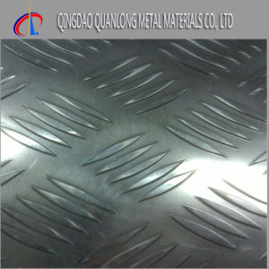 No. 8 Mirror Finish Stainless Embossed Steel Sheet pictures & photos