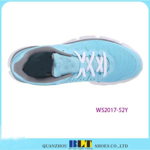 Blt Women′s Lifestyle Motorsport Wingtip Sneaker Style Sport Shoes pictures & photos