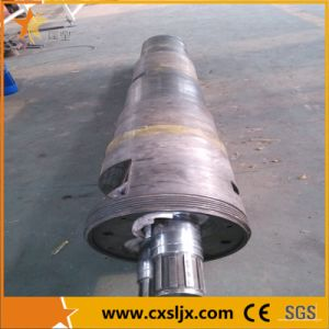 Conical Twin Screw and Barrel for PVC Pelletizing Extruder pictures & photos