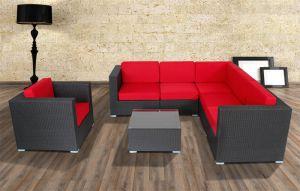 PE Rattan Modern Sofa Set Outdoor Sofa pictures & photos